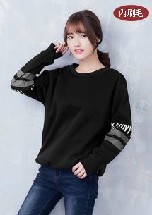 個性韓版內刷毛上衣
