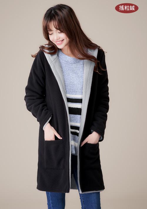【限時$399】韓暖雙面穿搖粒絨外套