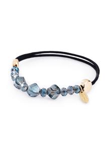 法式晶鑽珠飾髮圈