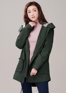 韓風率性加厚軍裝外套