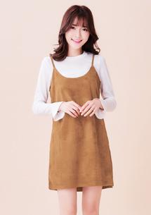 韓品兩件式質感洋裝