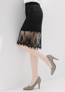 唯美鏤空雕花包臀蕾絲裙