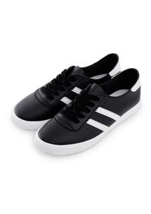 簡約舒軟條紋休閒鞋