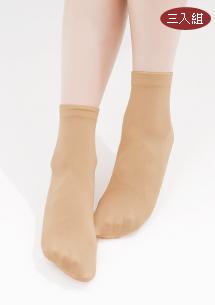 絲滑糖果短襪3入組