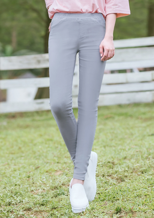 顯瘦美尻高彈鉛筆褲