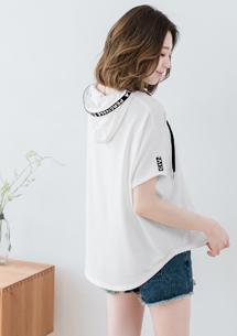 【限時$199】韓版字母設計寬版上衣