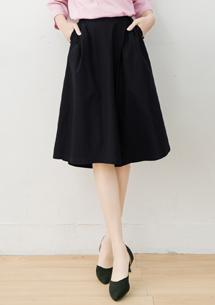 獨特時尚打摺寬褲裙