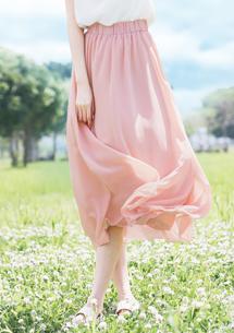 浪漫飄逸雪紡長裙