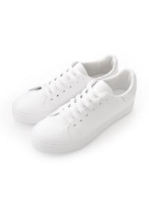 休閒百搭舒適配色小白鞋