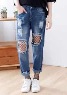 韓系指標性感網狀褲襪
