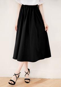 輕柔飄逸質感長裙