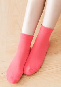 韓系百搭學院中筒襪