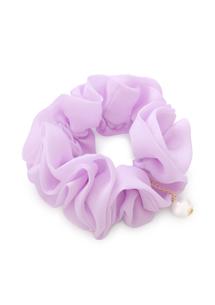 氣質唯美珍珠墜飾髮圈