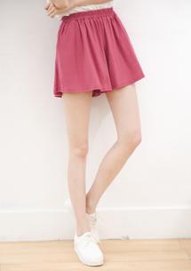 純棉百搭口袋褲裙