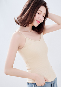 【限時★買一送一】多色蕾絲坑條棉質背心