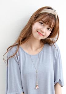 韓系清新坑條扭結髮帶
