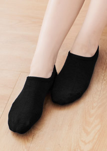 舒柔質感隱形船襪