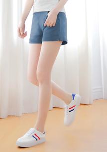 細毛圈短褲