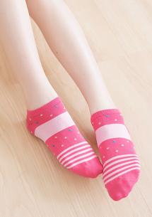 涼感繽紛短襪