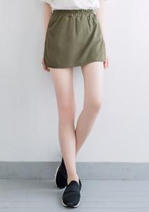 百搭美型窄裙短褲裙