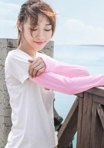 涼感透氣防曬袖套