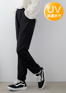 吸排抗UV透氣休閒運動褲