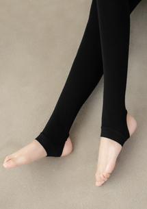 高彈親膚顯瘦褲襪-踩腳