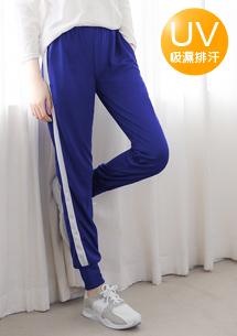 運動時尚抗UV吸排休閒褲