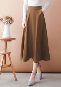 完美飄逸質感長裙