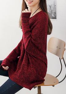 暖意好感混紡針織毛衣
