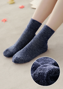 羊毛混紡加厚保暖襪