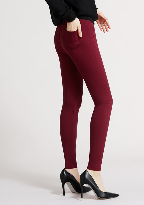 特級彈性保暖窄管褲