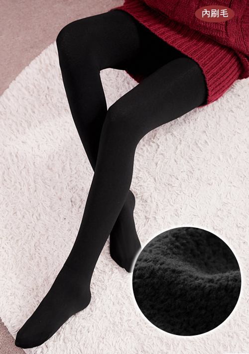極暖抗寒彈力刷毛褲襪