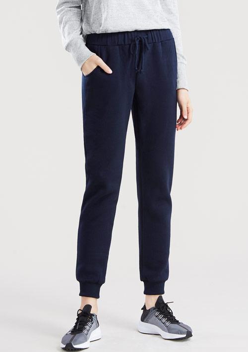 【限時$250】暖感刷毛束口褲