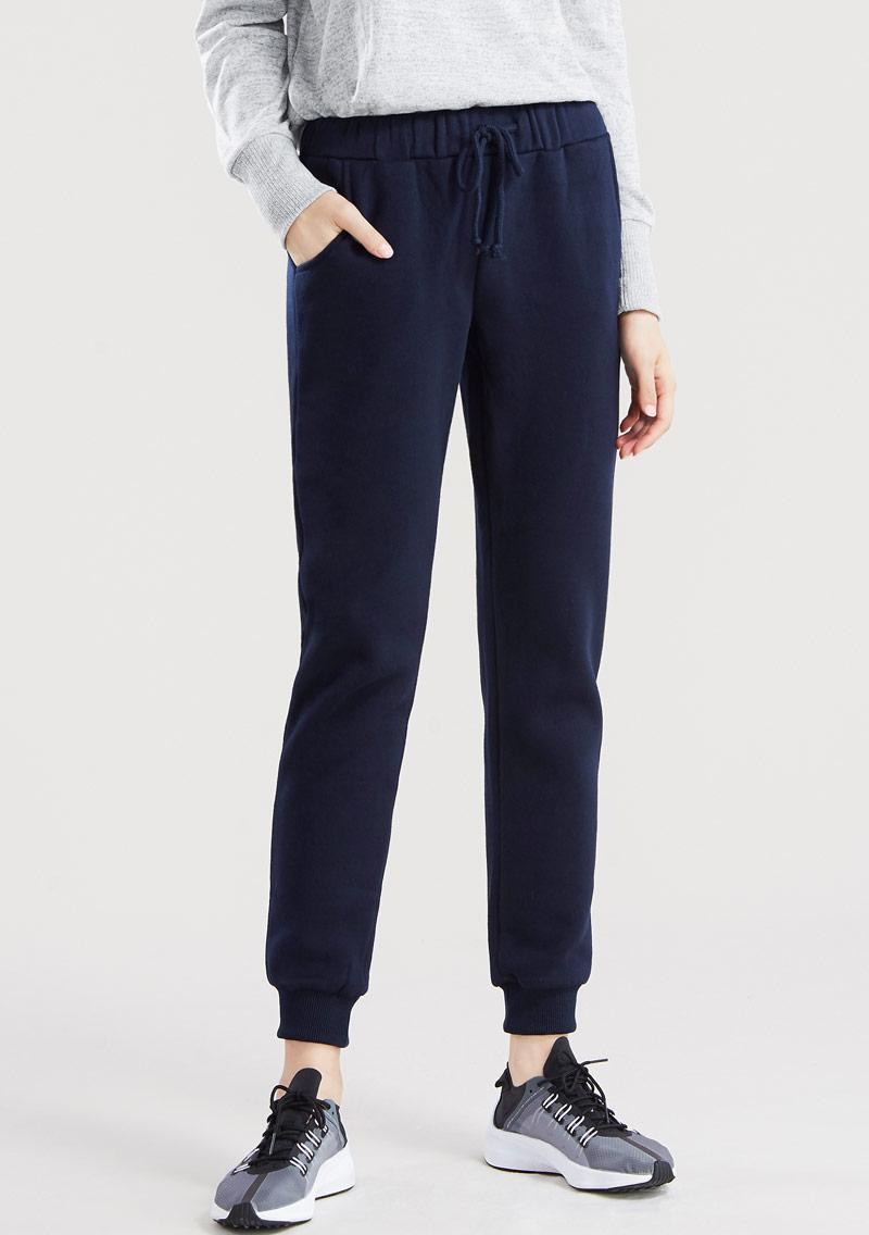 【限時$145】暖感刷毛束口褲