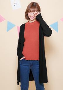 韓版設計針織開襟外套
