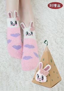 QQ絨造型襪-附包裝盒