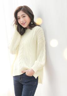 麻花編織毛衣