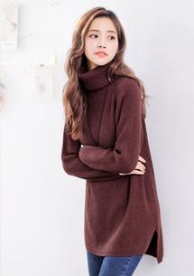 暖感加厚包芯紗針織毛衣