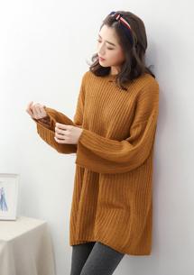 清新氛圍針織毛衣