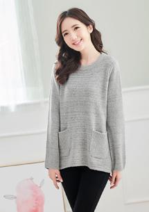 微甜女孩針織毛衣