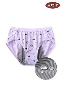 MIT貓咪棉感舒適內褲