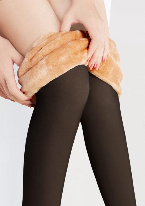 假透膚加厚保暖襪