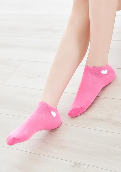 愛心柔彈短襪