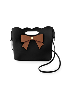 蝴蝶結斜揹手提包