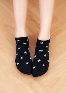 星星棉柔短襪