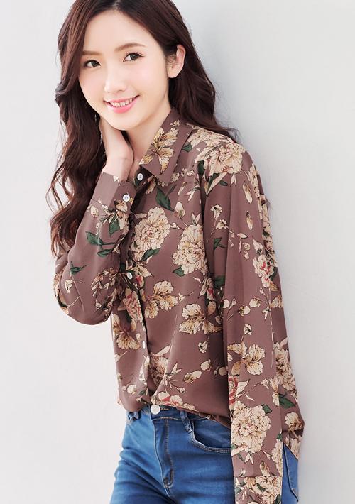 春漾氣息質感襯衫