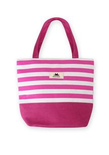 貓咪條紋配色手提包