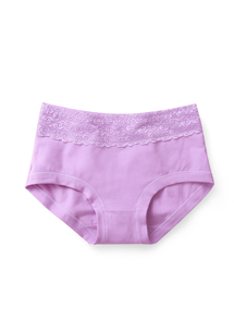 柔美蕾絲純棉親膚內褲