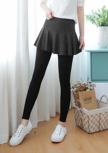 四面彈短裙內搭褲